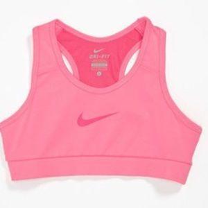 Nike Pro Combat Dri-fit Pink Sport Bra Size L